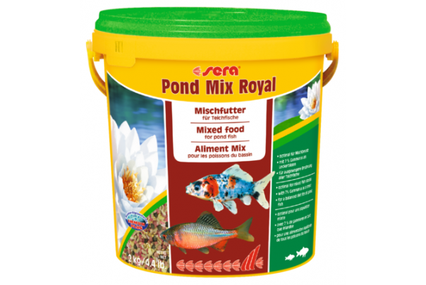 Pond mix royal 10 L - Sera